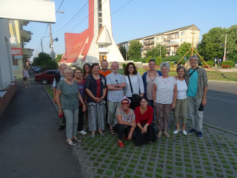 Membres du réseau thématique en Roumanie en 2017
